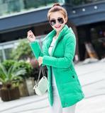 秋冬新款韩版女士轻薄羽绒服大码短款修身保暖外套潮